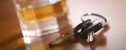Liquor and car keys