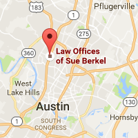 Location of the Law Offices of Sue Berkel
